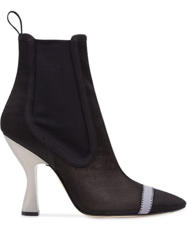 Fendi Colibrì ankle boots in black