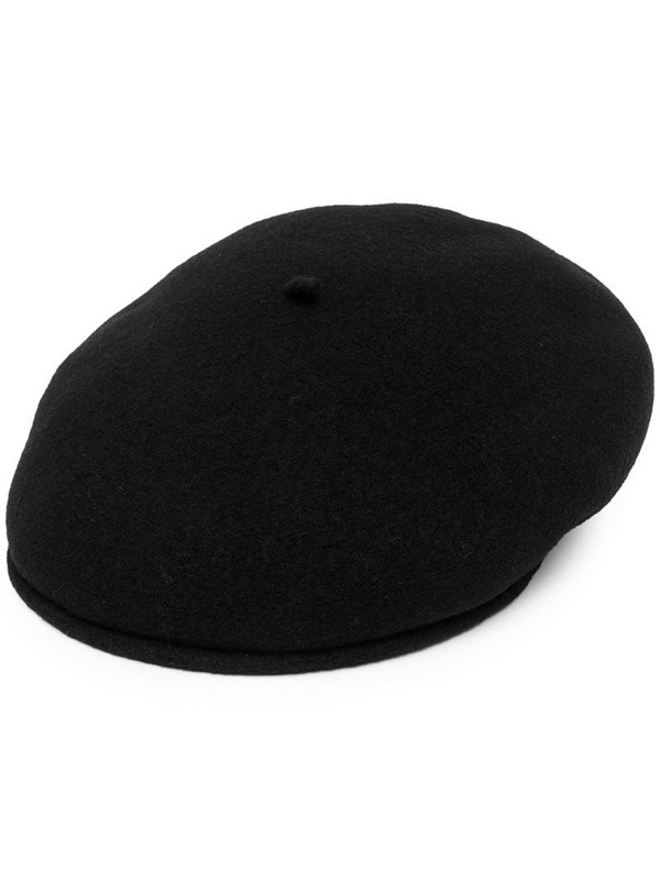 Marine Serre embroidered-logo beanie in black