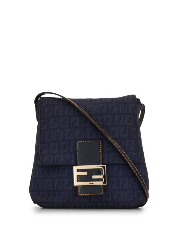 Fendi Pre-Owned Zucchino crossbody bag in blue