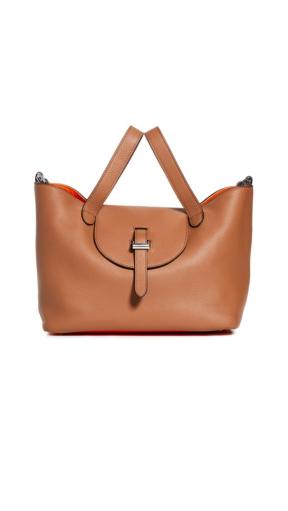 meli melo Thela Medium Tote in tan / orange
