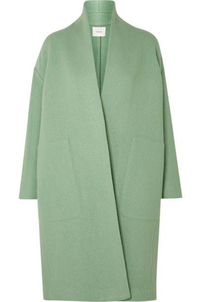 Vince - Wool-blend Coat - Mint