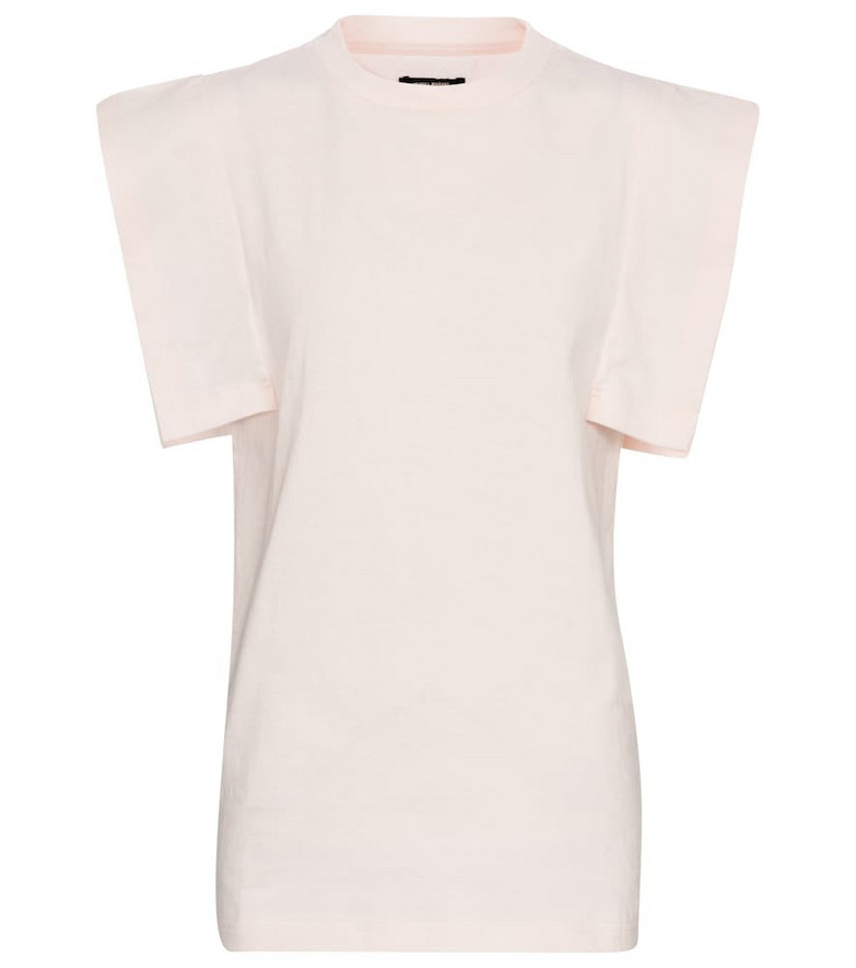 Isabel Marant Zelipa cotton T-shirt in white