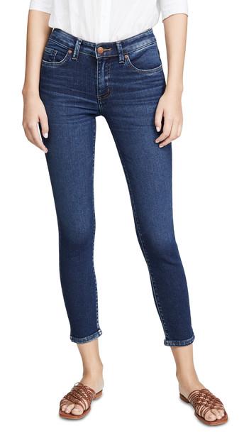 Lee Vintage Modern Mid Rise Skinny Ankle Jeans in blue