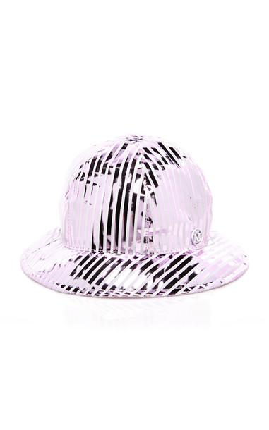 Maison Michel Mara Coated-Cotton Bucket Hat in multi
