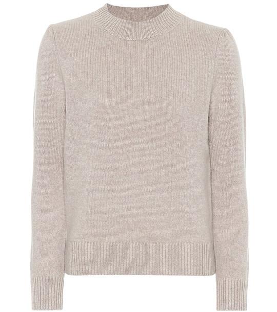 Co Cashmere sweater in neutrals