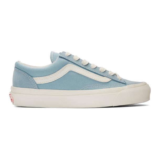 Vans Blue OG Style 36 LX Low Sneakers