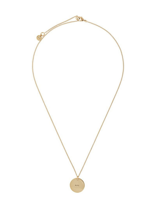 A.P.C. Eloi necklace in gold