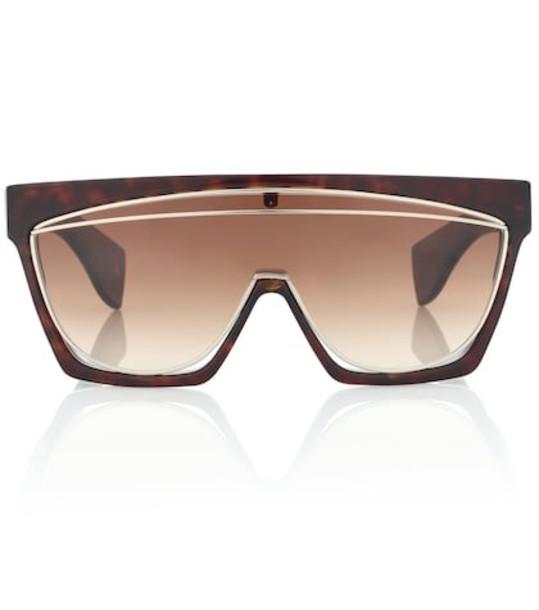 Loewe Masque sunglasses in brown