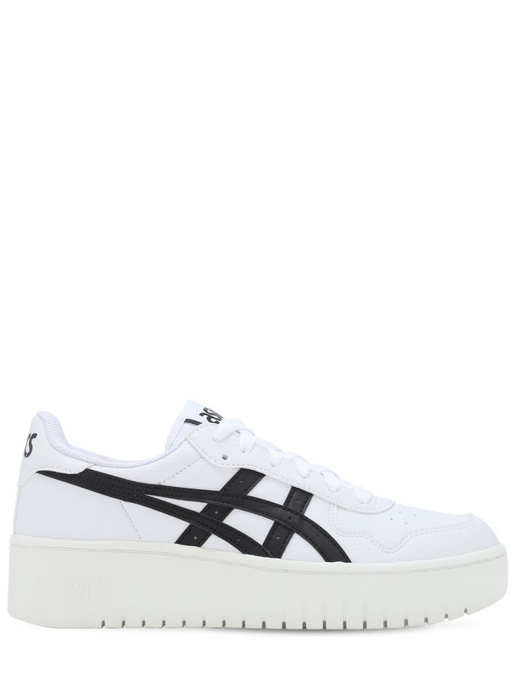 ASICS Japan S Platform Sneakers in black / white