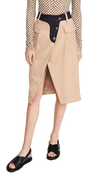 BAUM UND PFERDGARTEN Salvianne Skirt in camel
