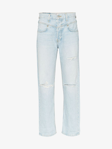 Re/Done '90s straight leg jeans in blue