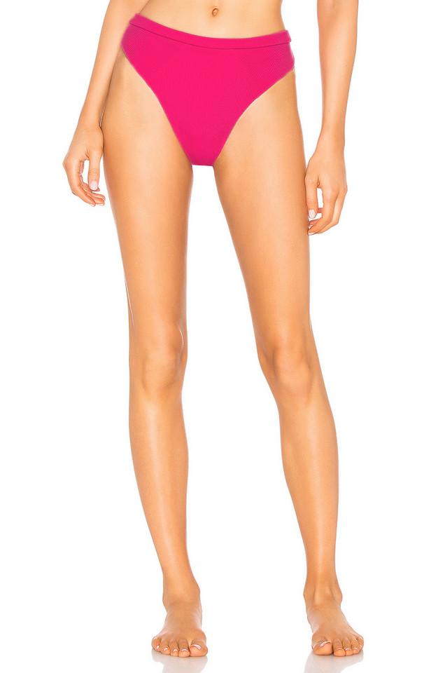 Beach Bunny x REVOLVE Emerson High Waist Bikini Bottom in pink