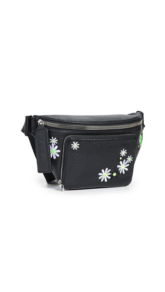 KARA Large Bum Bag in black