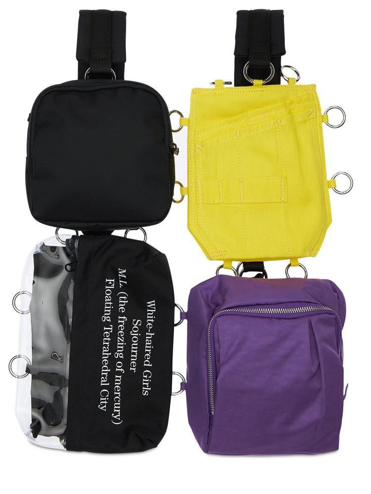EASTPAK BY RAF SIMONS 6l Eastpak Rs Pocketbag Loop Backpack