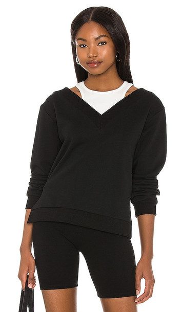 LBLC The Label Chrissy Sweatshirt in Black