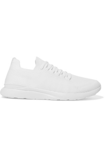 APL Athletic Propulsion Labs - Techloom Breeze Mesh Sneakers - White