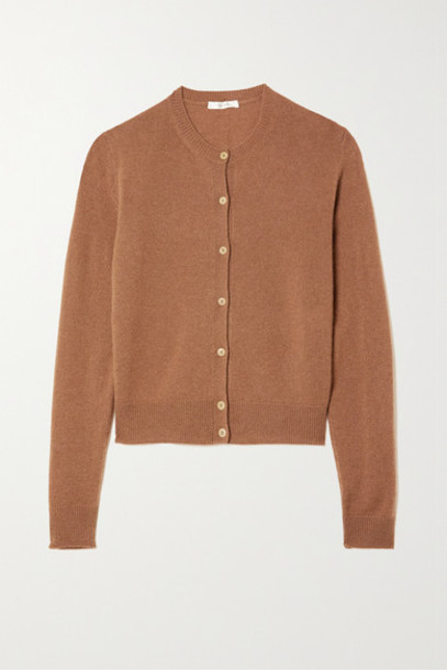 The Row - Annamaria Cashmere Cardigan - Brown