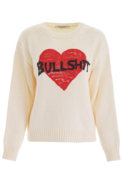 Philosophy di Lorenzo Serafini Bullshit Pullover in white