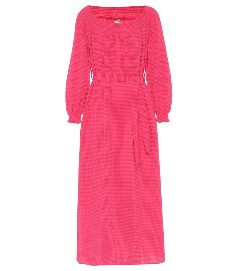 Baum und Pferdgarten Exclusive to Mytheresa – Amalie midi dress in pink