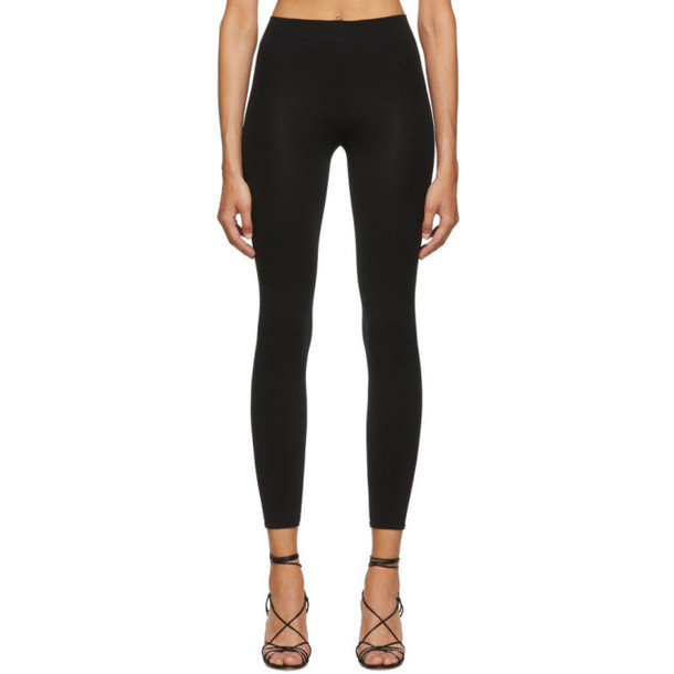 Wolford Black Velvet Sensation Leggings