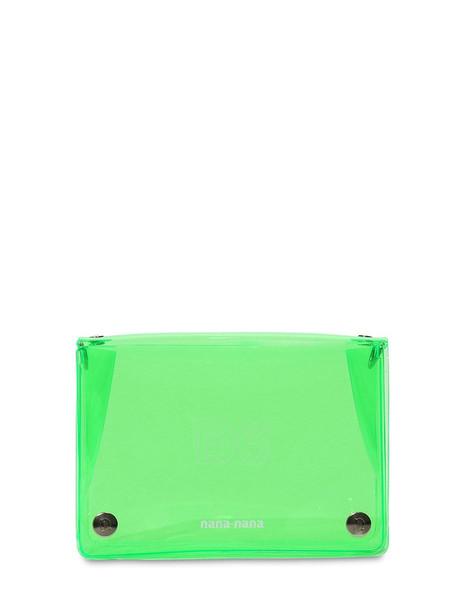 NANA NANA B6 Pvc Crossbody Bag in green