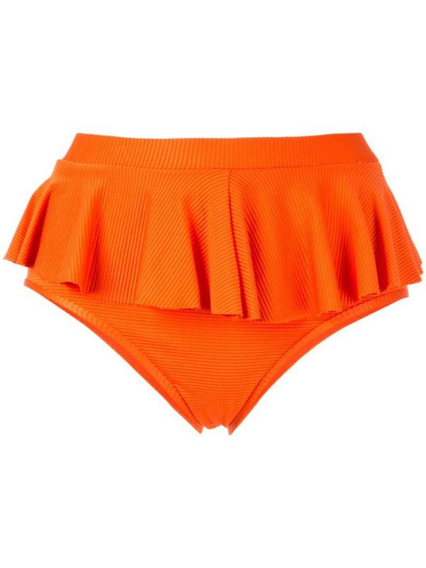 Duskii Cancun bikini bottoms in orange