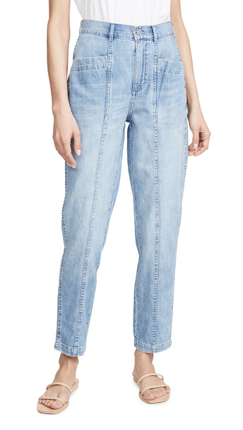 La Vie Rebecca Taylor Drapey Denim Pants