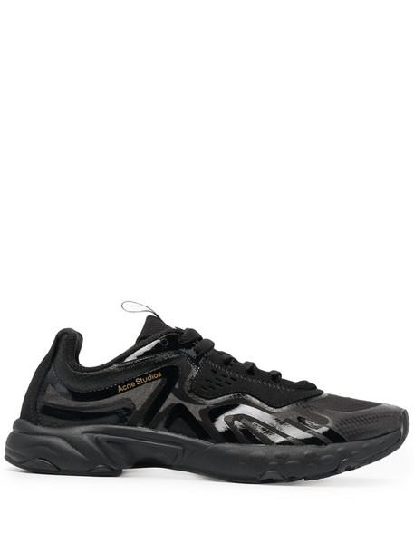Acne Studios N3W panelled sneakers in black