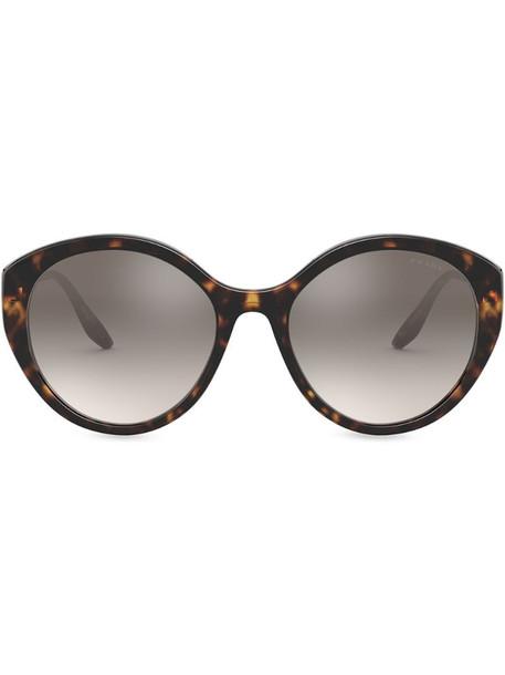 Prada Eyewear Ultravox alternative fit sunglasses in brown