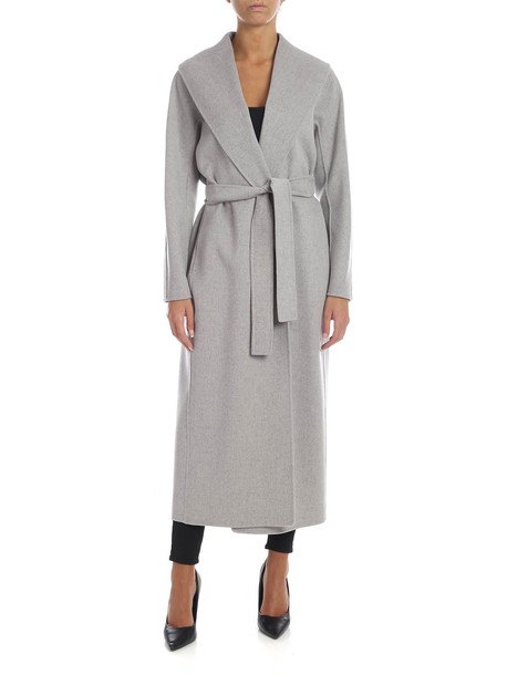 S Max Mara Here is The Cube S Max Mara - Messilu Coat in grey