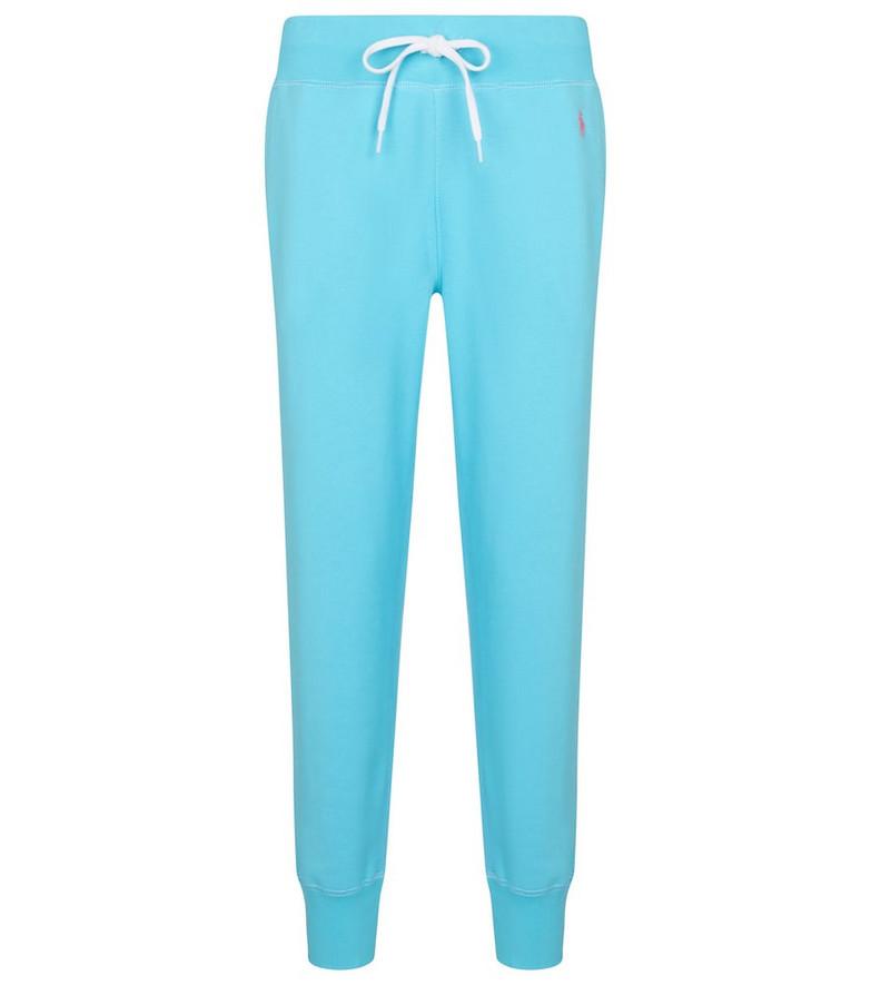 Polo Ralph Lauren Cotton-blend sweatpants in blue