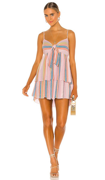 SAYLOR Lorinne Mini Dress in Pink in multi
