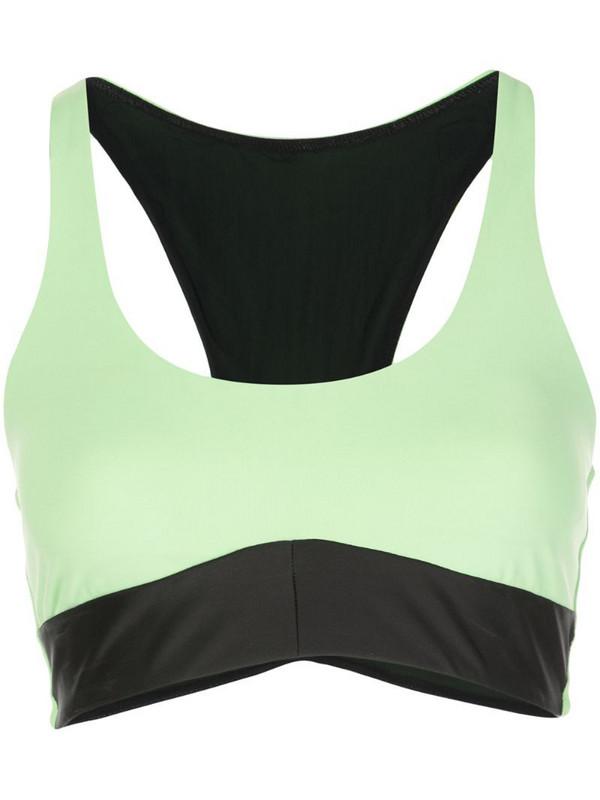 Koral Ring sports bra in green