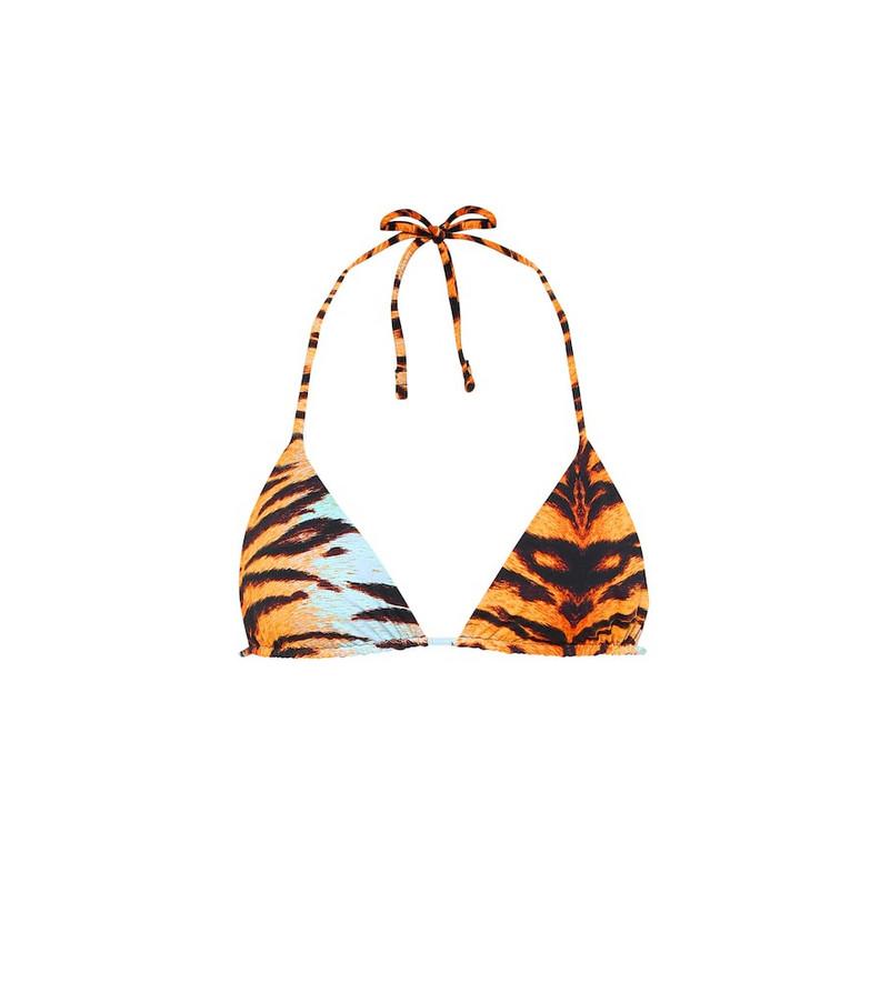 Reina Olga Exclusive to Mytheresa – Love Triangle bikini top