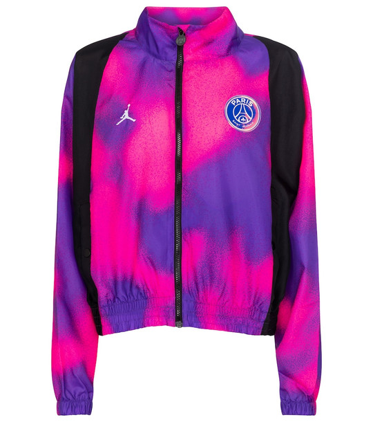Nike Jordan Paris Saint-Germain track jacket in purple