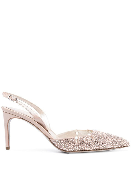 René Caovilla Yuki sandals in pink
