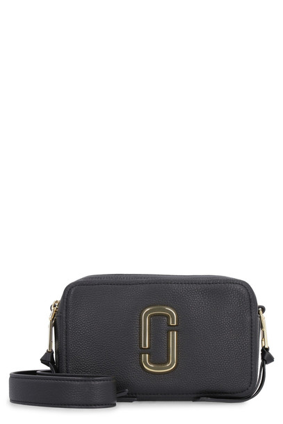 Marc Jacobs The Softshot 21 Leather Shoulder Bag in black