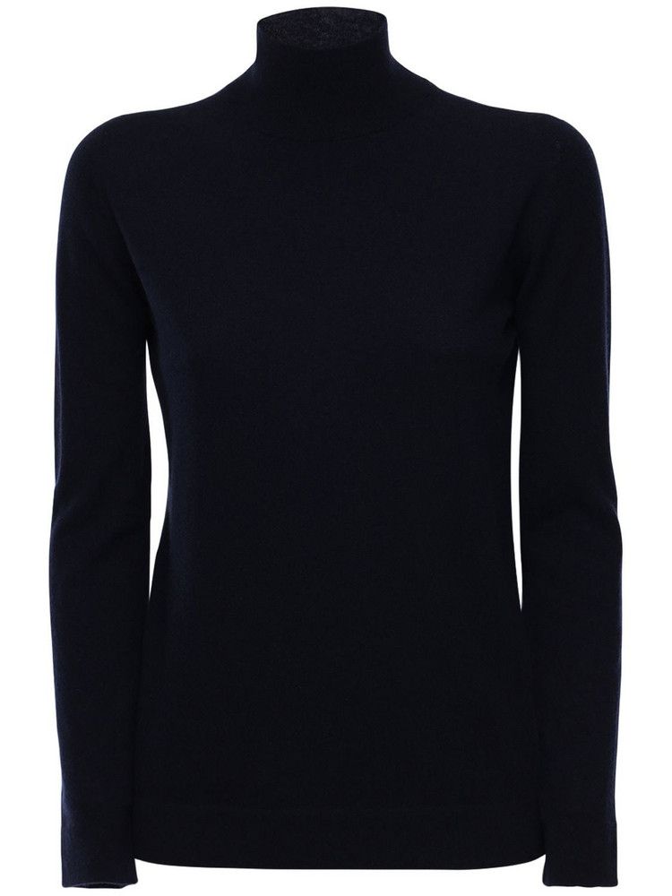 AGNONA Cashmere Knit Sweater in navy