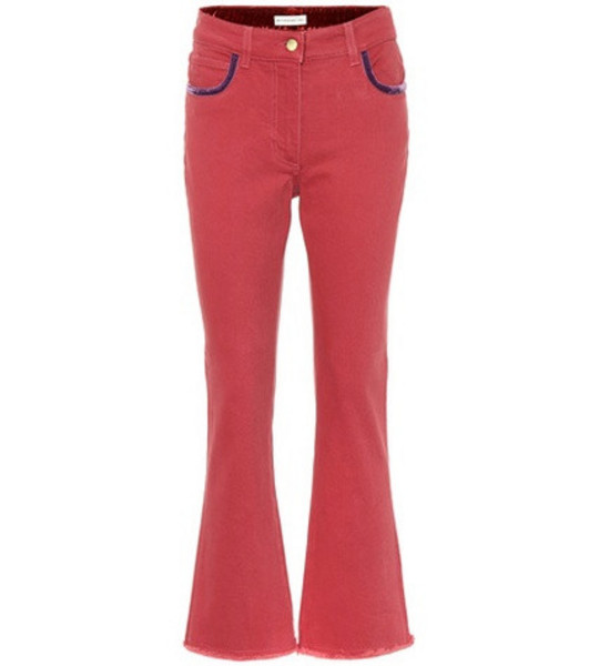 Etro Flared jeans in red