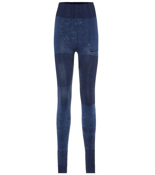Nike Technical leggings in blue