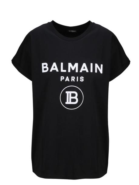Balmain Short Sleeve T-Shirt in noir