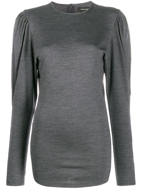 Isabel Marant Davallia top in grey