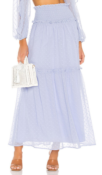 Tularosa One Sweet Day Skirt in Baby Blue