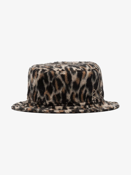 Ruslan Baginskiy RUSLAN BCKET HAT in brown