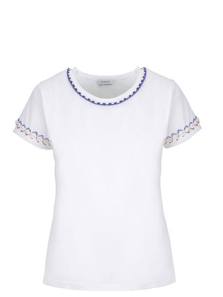 Parosh P.a.r.o.s.h. Beads Detail T-shirt