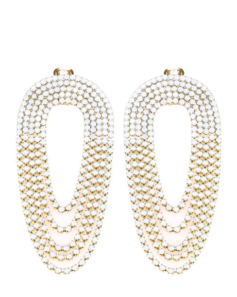 Silvia Gnecchi Earrings in white