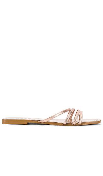 RAYE Echo Sandal in Metallic Gold