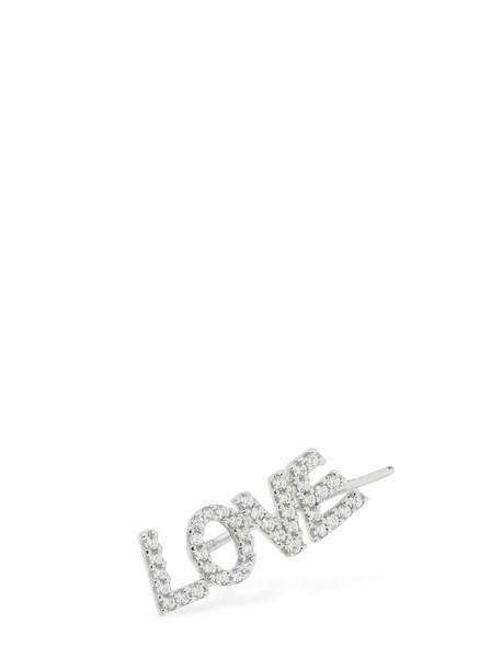 APM MONACO 'love' Mono Earring in silver