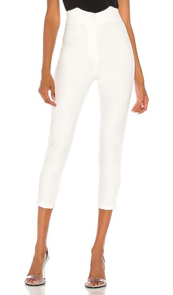retrofete Tally Pant in White