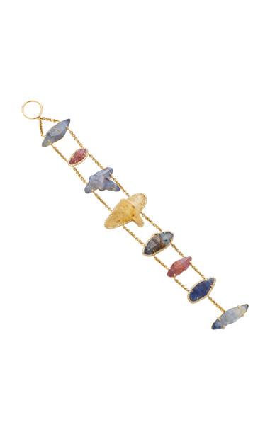 Kimberly McDonald 18K Gold Sapphire And Diamond Bracelet in multi